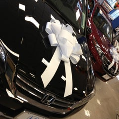 Photo taken at Honda of Danbury by Matt Z. on 12/10/2012