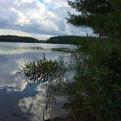 Photo taken at Massasoit State Park by Brittany M. on 8/17/2014