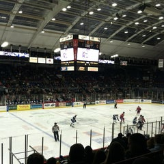 Photo taken at The Oncenter War Memorial Arena by Nick M. on 12/8/2012