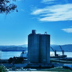 Photo taken at Vista Point - Benicia by J.F. P. on 1/25/2014