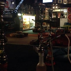Photo taken at Sphinx Hookah Bar & Cafe by Mohammed A. on 4/15/2014