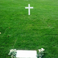 Photo taken at Edward Ted Kennedy Grave by Tim S. on 11/3/2012