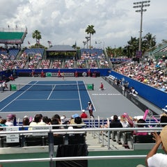 Photo taken at Delray Beach International Tennis Championships (ITC) by Doramary R. on 4/20/2013