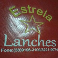 Photo taken at Estrela Lanches by Sumaya F. on 6/26/2014