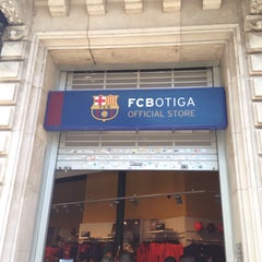 Photo taken at FCBotiga Official Store by Andrey s. on 8/23/2014