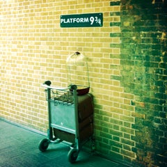 Photo taken at Platform 9¾ by Yosh T. on 4/4/2013