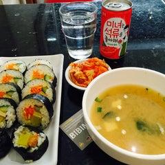 Photo taken at Bibimbap Cafe by Aphirat ♡ S. on 4/23/2015