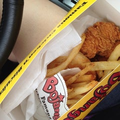 Photo taken at Bojangles' Famous Chicken 'n Biscuits by Emily J. on 7/7/2013