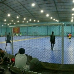 Photo taken at YPKP Indoor Soccer Center by Adit F. on 12/28/2013