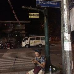 Photo taken at Maginhawa Street by jose a. on 11/22/2015