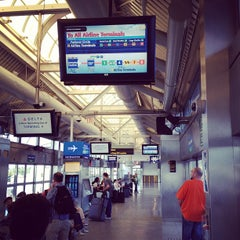 Photo taken at JFK AirTrain - Jamaica Station by Dan on 6/1/2013