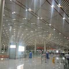 Photo taken at Beijing Capital Int'l Airport 北京首都国际机场 (PEK) by Chin L. on 10/16/2012