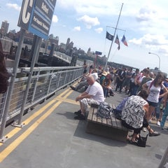 Photo taken at East River Ferry - Wall St/Pier 11 Terminal by Janica O. on 8/8/2015