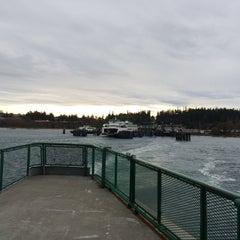 Photo taken at M/V Hyak (Washington State Ferry) by David Parker B. on 3/8/2014