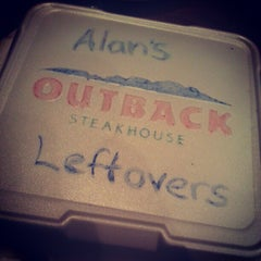 Photo taken at Outback Steakhouse by ALAN A. on 2/7/2013