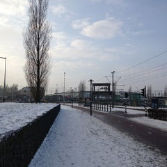 Photo taken at Voor de Bijen (gestapelde tafels) by Ad V. on 1/17/2013