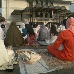 Photo taken at Al-Izhar Pondok Labu by Mella A. on 10/26/2012
