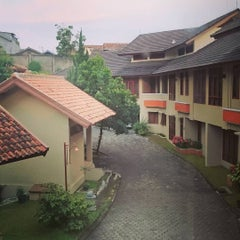 Photo taken at Ahadiat Hotel & Bungalow by Supianto on 7/20/2015