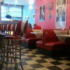 Photo taken at Stateside Diner by Andrew M. on 5/9/2014
