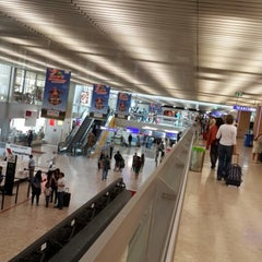 Photo taken at GVA Arrival Hall by Khulood S. on 8/19/2013