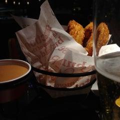 Photo taken at Red Robin Gourmet Burgers by Sebastian B. on 2/2/2013