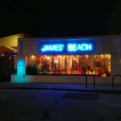 Photo taken at James' Beach by Kevin B. on 12/4/2012