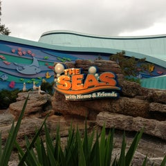 Photo taken at The Seas with Nemo & Friends by Mark M. on 1/3/2013