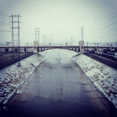 Photo taken at Sixth Street Bridge by Reyn H. on 11/30/2012