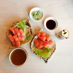 Photo taken at Sushi Tei by Alfi K. on 7/13/2014