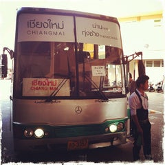 Photo taken at สถานีขนส่งผู้โดยสารเชียงใหม่ แห่งที่ 2 (อาเขต) Chiangmai Bus Terminal 2 (Arcade) by Fred K. on 2/5/2013