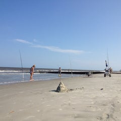 Photo taken at Hunting Island Beach by Randy C. on 7/21/2013