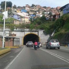 Photo taken at Túnel El Paraíso by Ennuvi M. on 10/17/2012