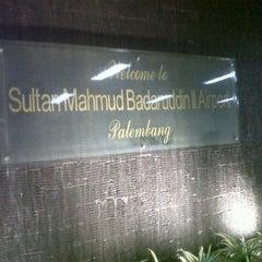 Photo taken at Sultan Mahmud Badaruddin II International Airport (PLM) by dwi m. on 7/15/2013