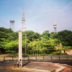Photo taken at 眉山公園 by Syunsuke F. on 7/31/2013