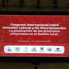 Photo taken at UAQ Centro de Negocios by 4Comunicaciones on 5/21/2014