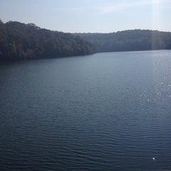 Photo taken at Loch Raven Dam by Monica W. on 10/6/2013