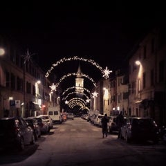 Photo taken at Corso Cavour by simple s. on 12/27/2013