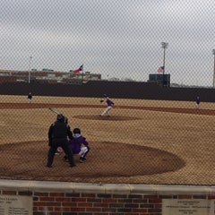 Photo taken at Richardson High School Baseball Field by Kirsten O. on 2/8/2014