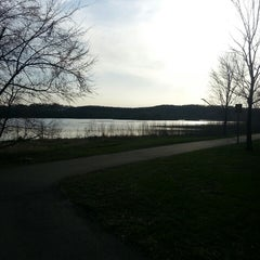 Photo taken at Normandale Lake Park by Joshua K. on 4/22/2014