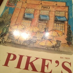 Photo taken at Pike's Old Fashioned Soda Shop by Chris E. on 12/31/2012