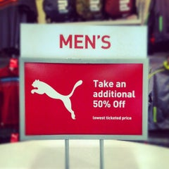 Photo taken at The PUMA Outlet by Вадим Т. on 9/26/2012