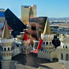 Photo taken at Excalibur Hotel & Casino by Hackair on 2/11/2013
