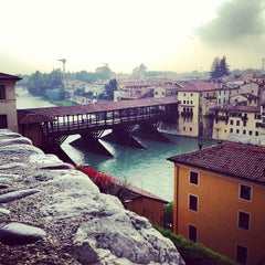 Photo taken at Ponte degli Alpini by Alberto B. on 5/3/2013