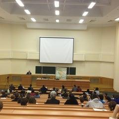 Photo taken at Факультет политологии МГУ by Dmitriy L. on 3/15/2013
