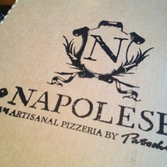 Photo taken at Napolese Artisanal Pizzeria- 49th and Pennsylvania by Stephanie B. on 4/2/2013