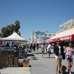 Photo taken at Venice Beach Boardwalk by Ciszewski M. on 1/16/2013