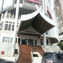 Photo taken at CIMB Bank by adila iela bella on 9/29/2012