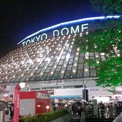 Photo taken at 東京ドーム (Tokyo Dome) by Saku Y. on 6/21/2013