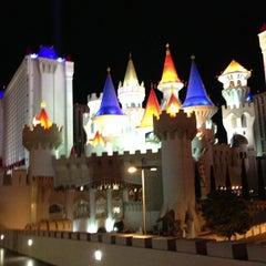 Photo taken at Excalibur Hotel & Casino by Saku Y. on 1/10/2013