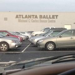 Photo taken at Michael C. Carlos Dance Centre - Atlanta Ballet by Plez J. on 10/30/2012